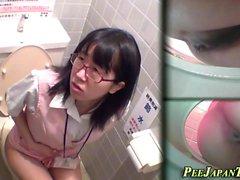 Asiáticos, pees, público, wc