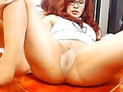 Pantyhose creamy squirt webcam