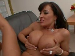 lisa ann gives titjob to mark wood