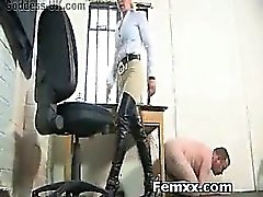 Extreme Bondage Femdom With Horny Bitch