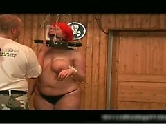 Bigtits boobs and Red Wig super bdsm scene