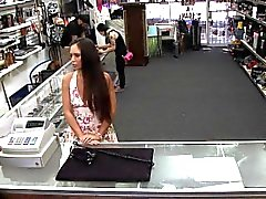 No stolen phones for the shop, but instead a fuck spy video
