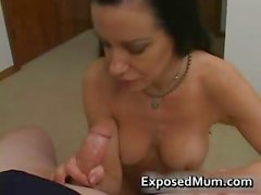 Good looking amateur mother masturbates part1