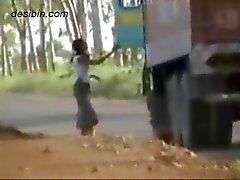 Piilokamera videomateriaalia rekkakuljettajien hauskaa valtatie callgirls