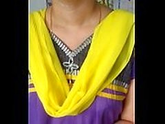 India Aunty with boss making clip
