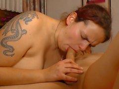 DEUTSCHLAND REPORT - German BBW in kinky sex reportage