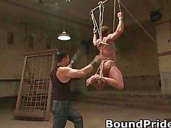 Extreme gay bondage groupsex part1