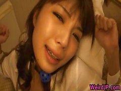 Azumi Harusaki Japanese doll en esclavage Partie1