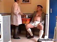 Dik Grandma And Grandpa