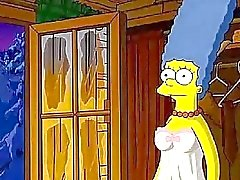 Simpsons bigote Cabin del amor