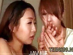 Asians blowjob