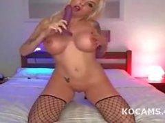 Mahtava venäjän teini malli masturboida