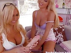 Tasha Reign Gives Christie a Lesbian Sorority Initiation!