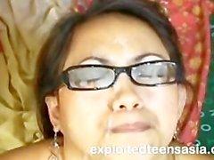 Loraine Filipino Amateur Cosplay Amateur Jizzed On Glasses