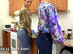 Lesbian mistress fisted