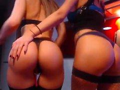 Любительский лесбийский фистинг в веб-камерах