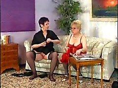 Lors de Porno vint dans les revues ou bagues grand'maman