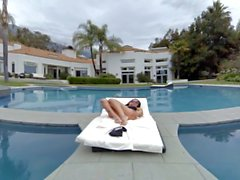 Virtual Reality porn - A Day by the pool