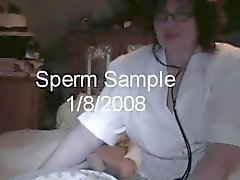L'infirmière véritable Branlette caméra cachée