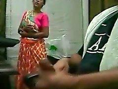 handjob for maid