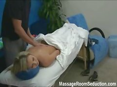 Kiara seduced and fucked by her massage therapist on hidden camera