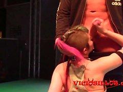 Nerea Falco und Eric Manly follando en el SEM 2016
