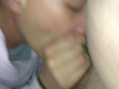 Two young girls sucking and fucking