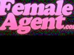 FemaleAgent. Multiple orgasms in perfect lesbian casting