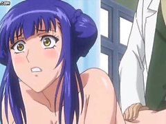 Huge breasted hentai getting nailed