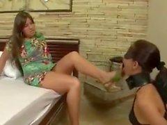 Lesbian Foot Worship 64