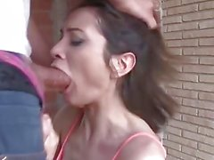 ChicasLoca - Pretty latina takes it in her tight ass on a costruction site