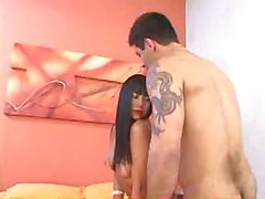 Kinky Asian bitch pumped in the asshole