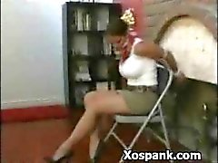 Amazing Woman Spanked Horny