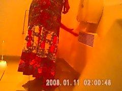 caught teen spy toilet hidden hairypussy sazz