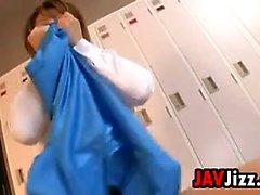 Sexy Japanese Lesbian Gymnasts Get Horny
