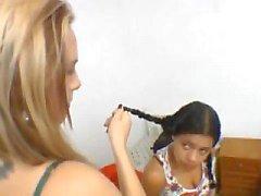 Brazil Facesitting Erica vs Mallerwom