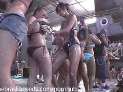 Whipped Cream Nipples Licking First Time Nervous College Lesbian Contest