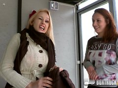 Hot Antonia Sainz and Angel Wicky Touch Each Others Pussies