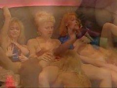Hot vintage lesbian orgy