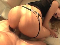 Hot babe Blue Angel loves rough sex with spanking