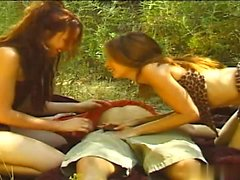Gwen Summers and Olivia Saint prefer wild sex