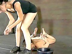 Savage pleasuring for hot lass