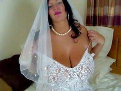 Sie hier schluckt Die Bride !!