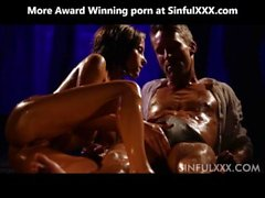 Oil sex couple from SinfulXXX
