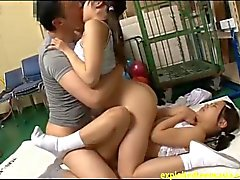 Jav Teen Schoolgirls Go For A Physical