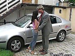 De michelle pulvériser du masque de bondage d'une automobile