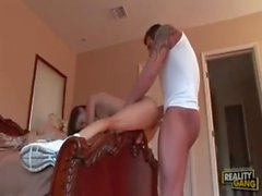 Teen fuck with her father-in-law