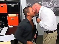Twink sex Horny Office Butt Banging