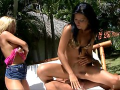Natalie Colt and Britney have some of the tightest...