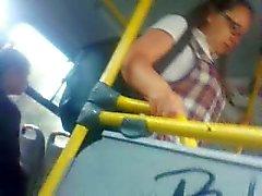 corrida en el bus